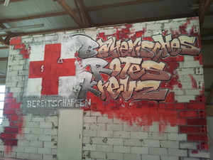 Graffiti im BKZ