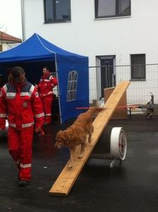 Vorführung bei der Freiwilligen Feuerwehr in Burgweinting