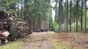 Training im Bayerischen Wald