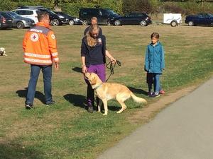 Erfolgreiche Rettungshundeprüfung
